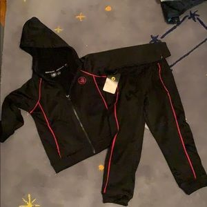 Boys body glove active track suit